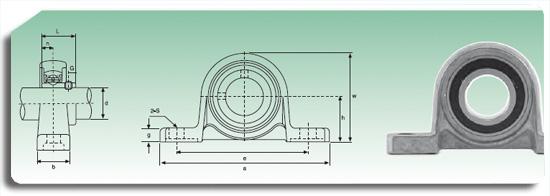 soportes de aluminio ISB