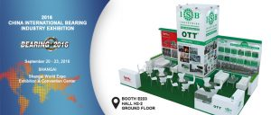 Stand ISB en la Feria Shangai International Bearing Industry Exhibition