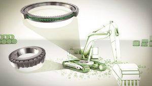 Componentes ISB en maquinaria para movimientos de tierra