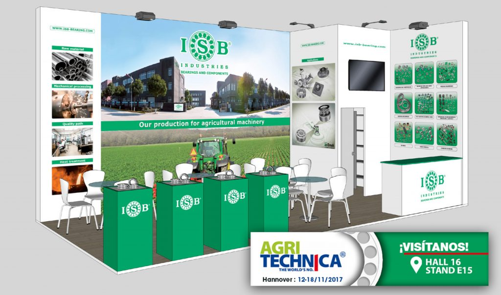 Agritechnica 2017 stand ISB