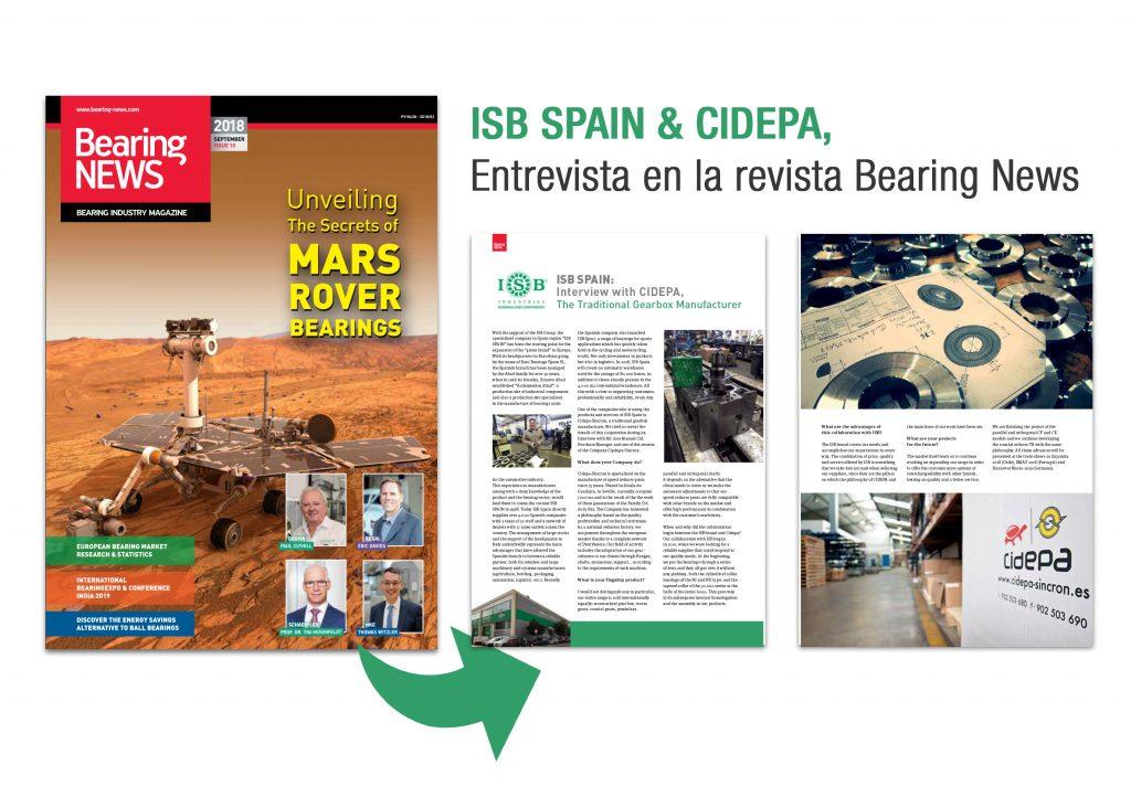 BearingNEWS - ISB Spain y Cidepa