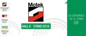 Stand ISB en la Feria Motek