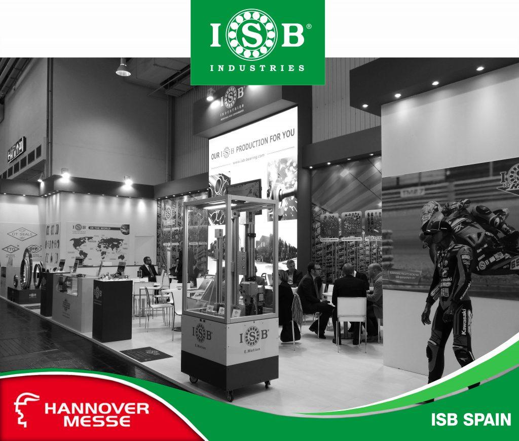 ISB en Hannover Messe 2019